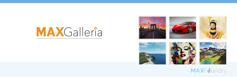 WordPress gallery plugin - MaxGalleria