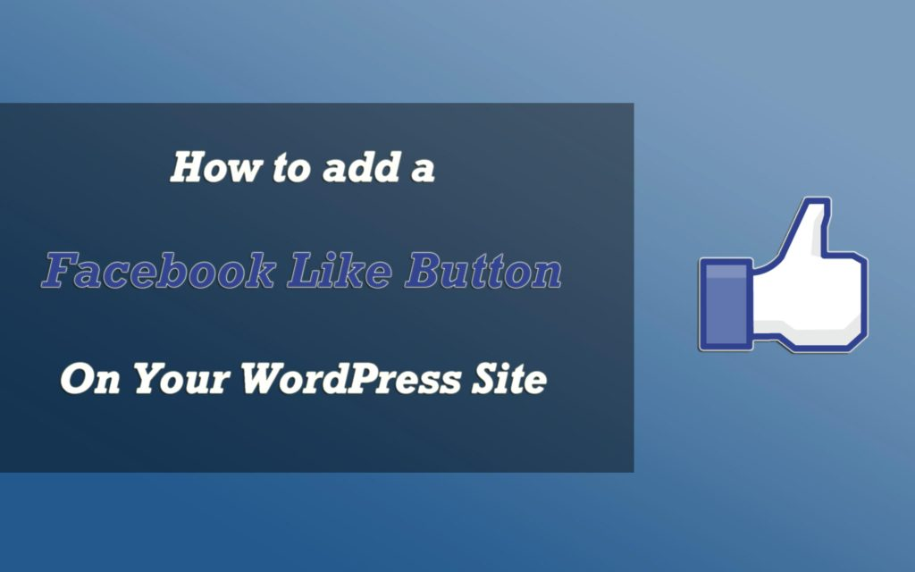 Facebook like WordPress