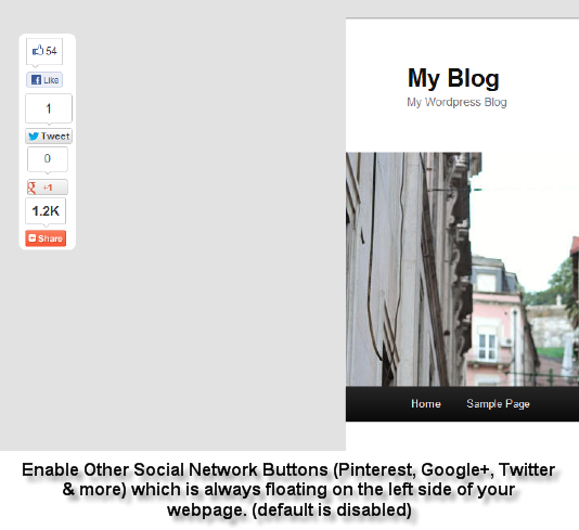 Facebook Like Button WordPress