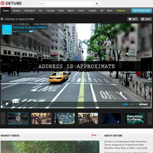 02detube-video-wordpress-theme - WPOven Blog