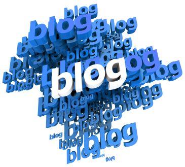 Blogs in blue
