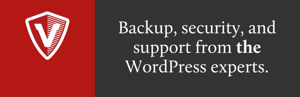 WP migration plugins - vaultpress