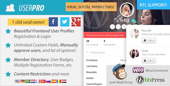 WordPress membership plugin - UserPro