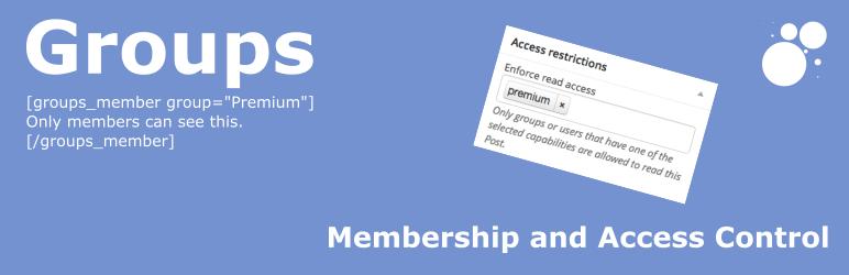 WordPress membership plugin - Groups