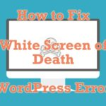 Common WordPress Error: White Screen of Death