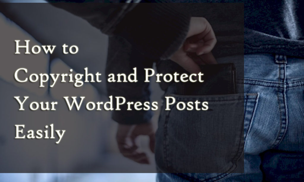 WordPress copy Protection