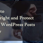 How to Protect Your WordPress Posts from Being Copied