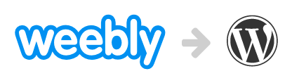 weebly to wordpress