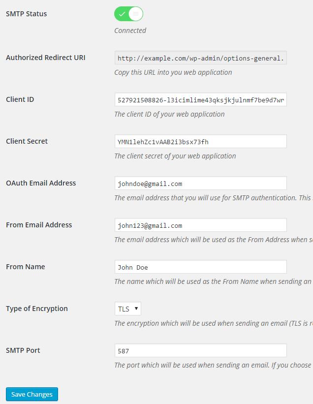 Free SMTP-Gmail SMTP
