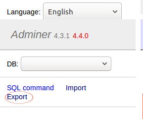 phpmyadmin vs adminer