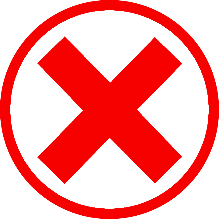cross mark Best WordPress Malware scanning and Clean up plugins