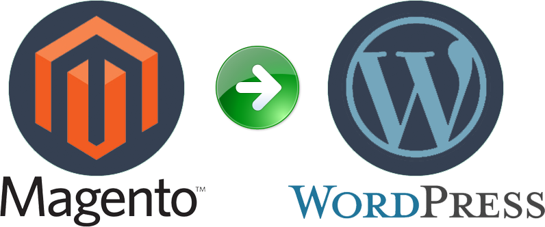 migrate from magento to wordpress