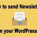 How to send Newsletter from your WordPress site