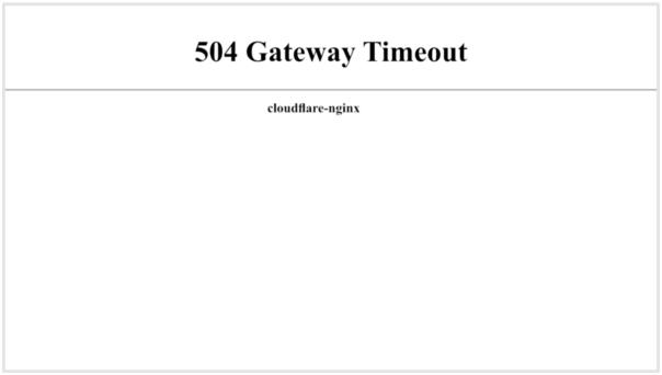 How to fix 504 Gateway Timeout - WPOven Blog