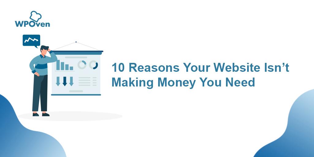 Website isn't Making Money