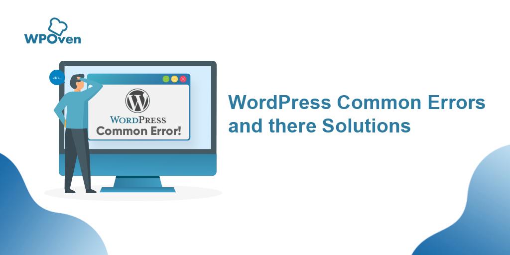 Wordpress Common Errors