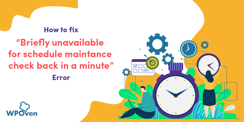 briefly unavailable for scheduled maintenance check back in a minute
