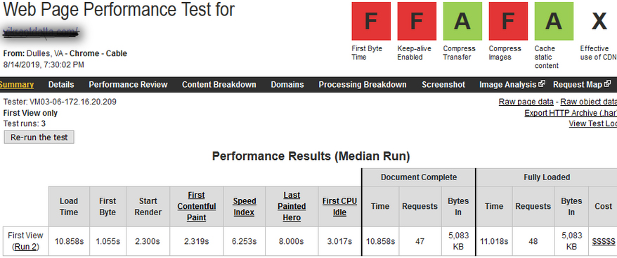 PHP version 5.6 test