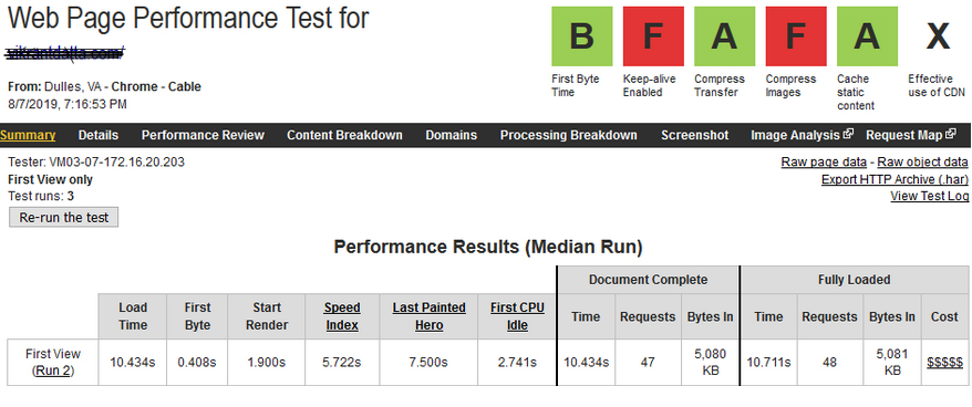 PHP Benchmark php 7.3 + WooCommerce