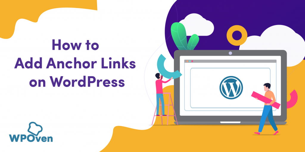 WordPress anchor link