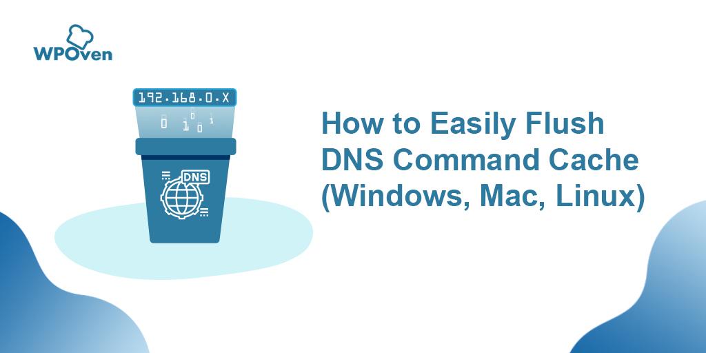 Flush DNS Command Cache