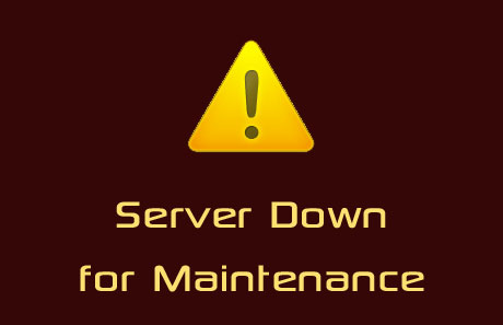 server down for maintainence