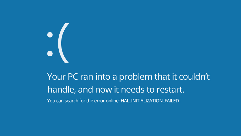 windos blue screen How to fix WordPress White screen of death error?