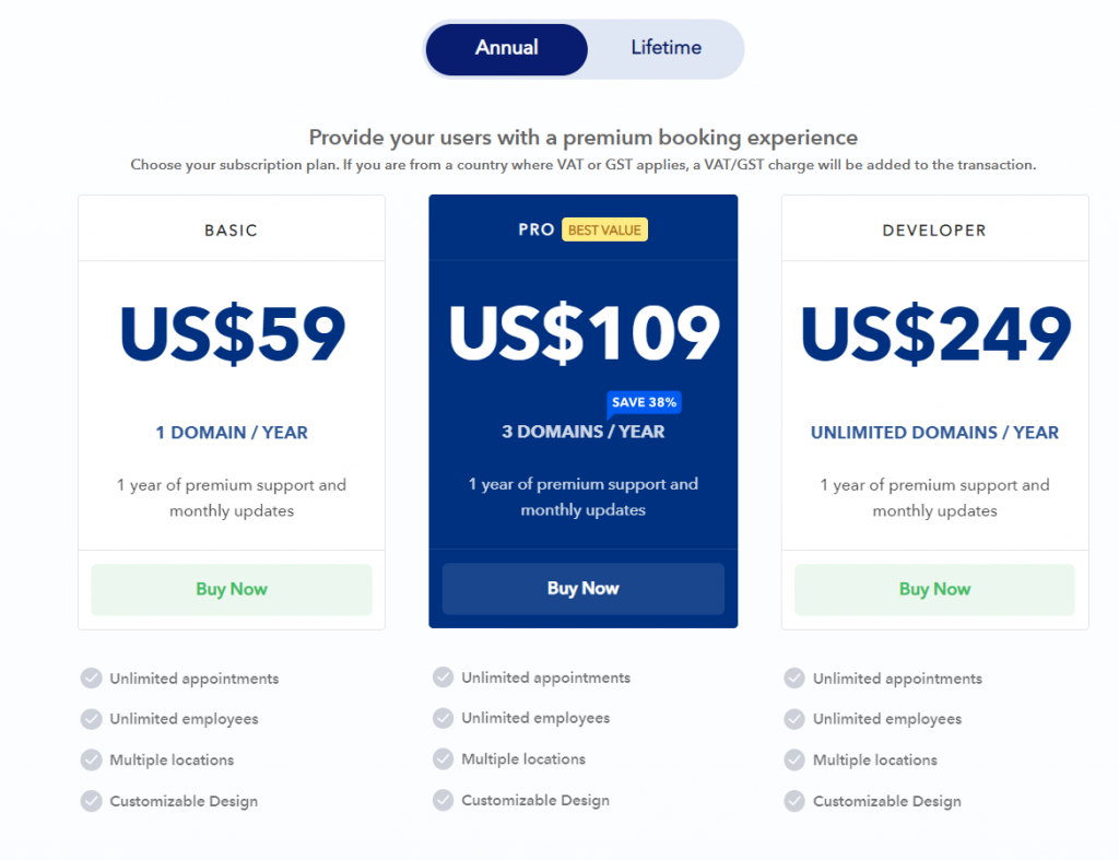 image 3 Top 15 WordPress Booking Plugins Compared For Automating Businesses