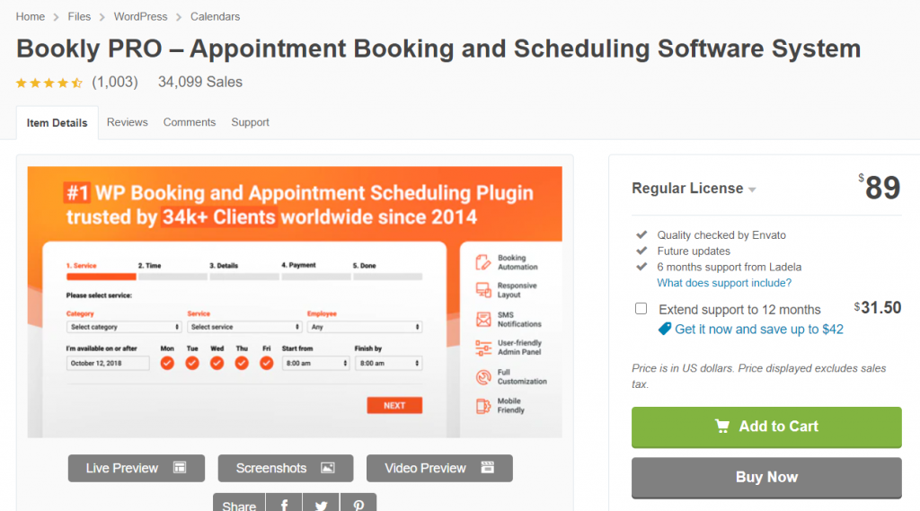 image 9 Top 15 WordPress Booking Plugins Compared For Automating Businesses
