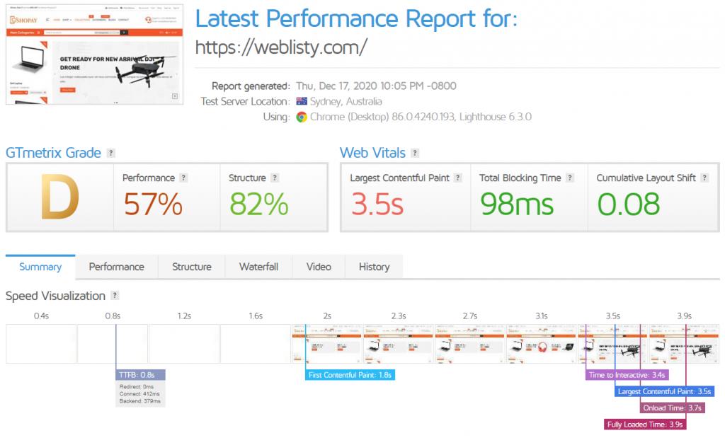 gtmetric speedup 1 Best WordPress Cloudflare plugin settings for faster sites