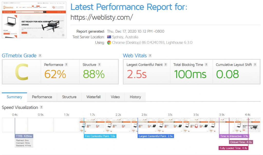 gtmetric speedup 2 Best WordPress Cloudflare plugin settings for faster sites