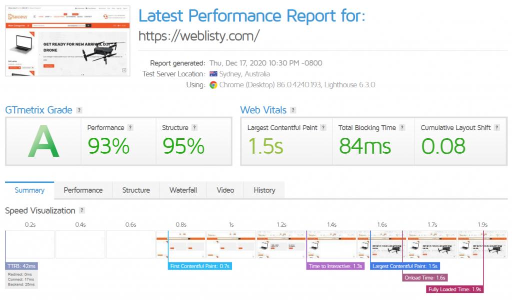 gtmetric speedup 3 Best WordPress Cloudflare plugin settings for faster sites