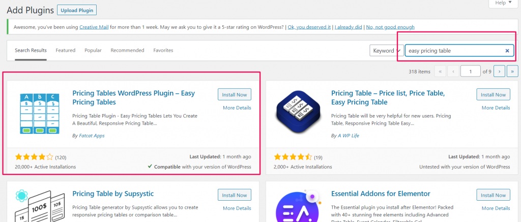 image 9 10 Best WordPress Pricing Table Plugins Compared 2021