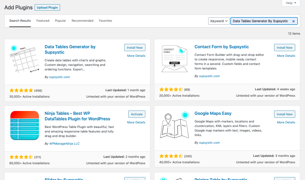 Screenshot 2021 01 11 at 5.54.48 PM 1024x605 1 12 Best WordPress Table Plugins Compared To Choose [2021]