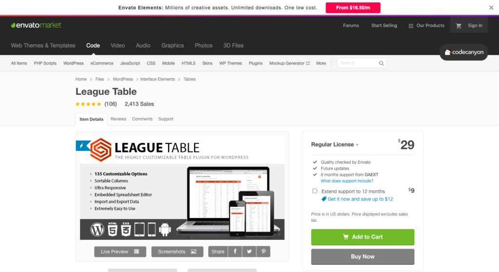 Screenshot 2021 01 11 at 6.01.10 PM 1024x559 1 12 Best WordPress Table Plugins Compared To Choose [2021]