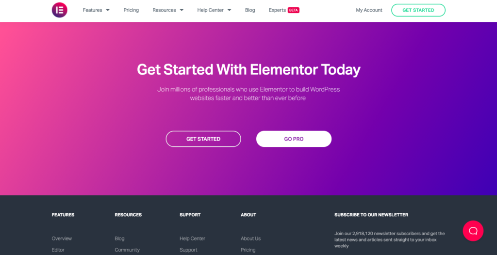 get started with elemetor 13 High Converting WordPress Landing Page Plugins Compared 2021