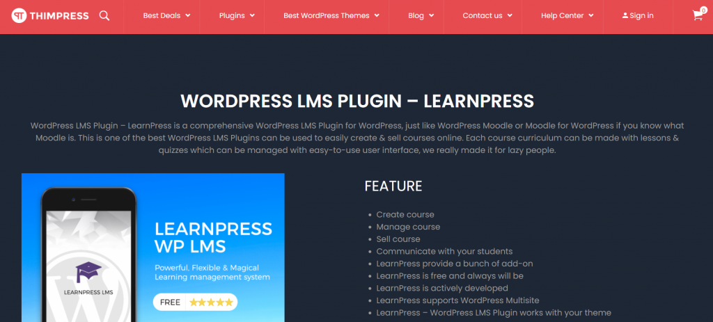 Memberpress WordPress LMS plugin
