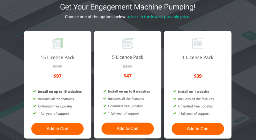 thrive comments pricing 2