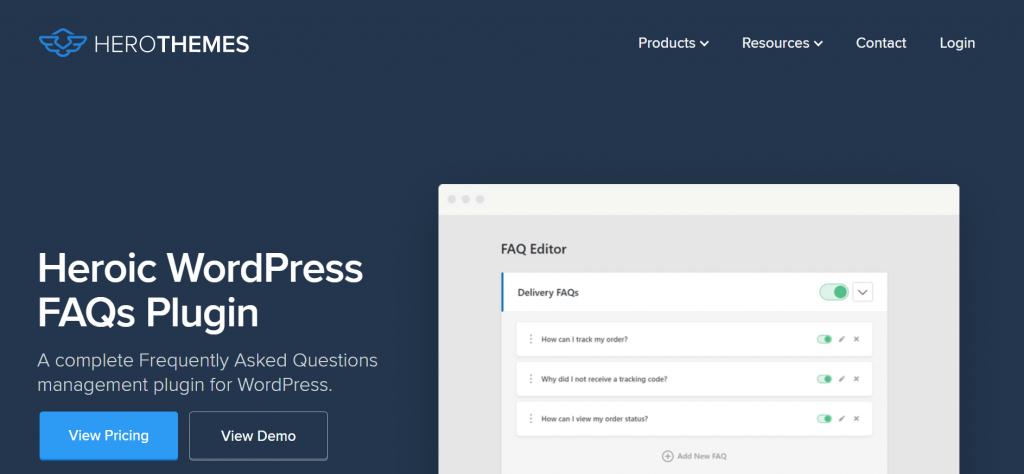 Heroic faq 5 Best WordPress FAQ Plugins and How to Add them to Your WordPress Website