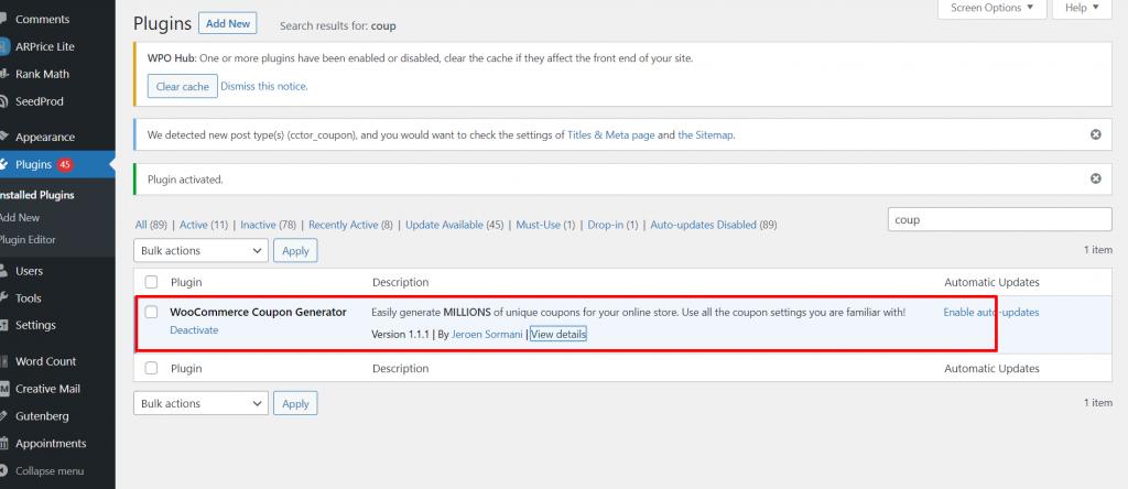 Screenshot 1 1 Best 12 WordPress Coupon Plugins For Your Website 2021