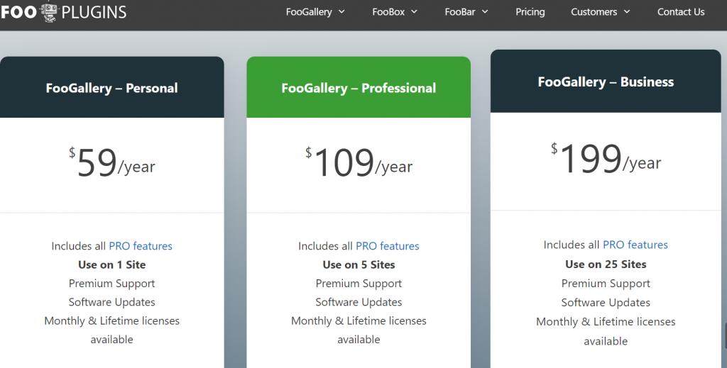 foogallery pricing Best 8 WordPress Gallery Plugin Of 2021 [Reviewed]