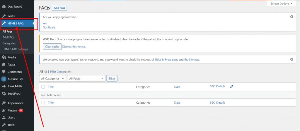 html2 5 Best WordPress FAQ Plugins and How to Add them to Your WordPress Website