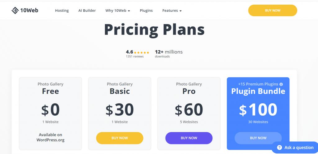 priceplan Best 8 WordPress Gallery Plugin Of 2021 [Reviewed]