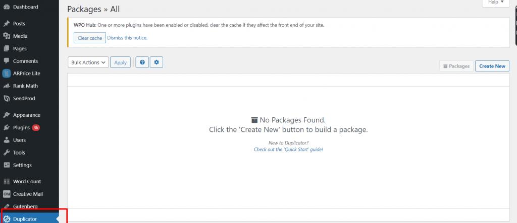 Screenshot 14 Best 10 WordPress Migration Plugins: Detailed analysis and Reviews