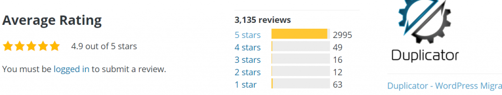 Screenshot 15 Best 10 WordPress Migration Plugins: Detailed analysis and Reviews