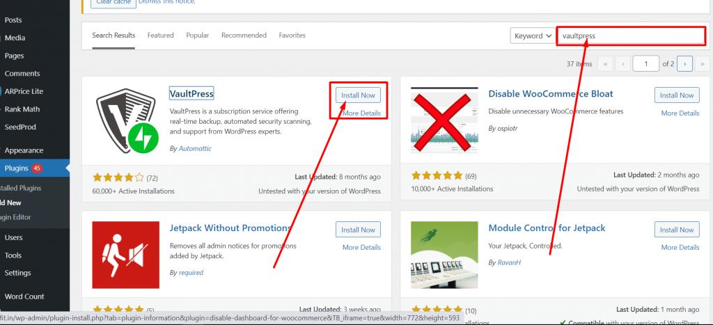 VaultPress 1 Best 10 WordPress Migration Plugins: Detailed analysis and Reviews