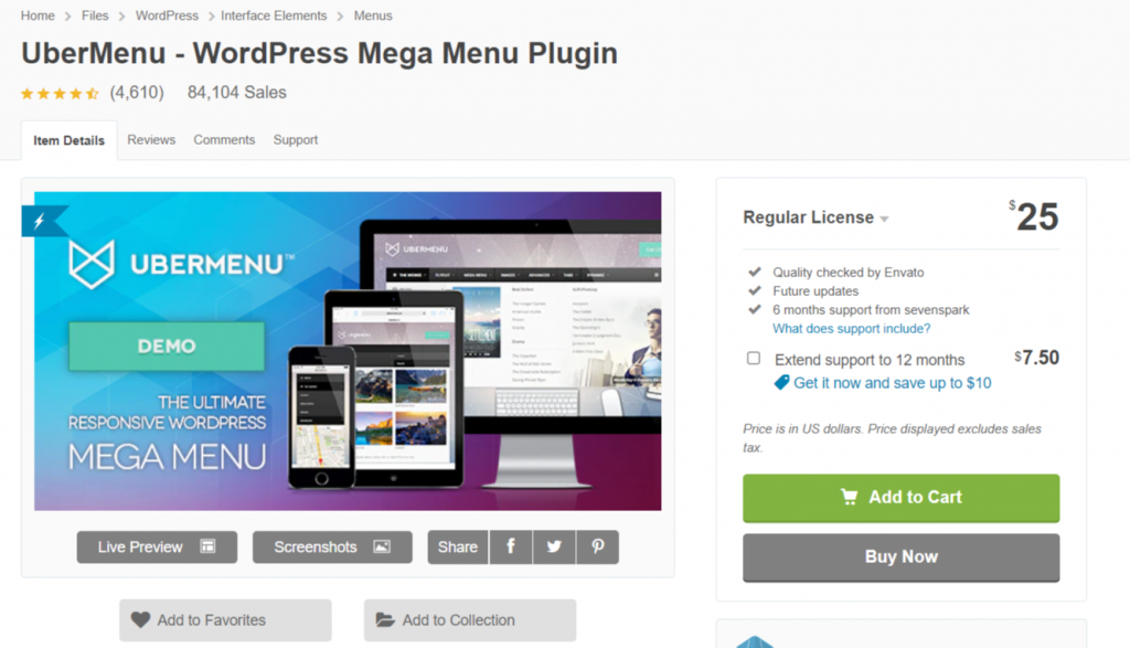 image 43 WordPress Menu Plugins: 10 Best Choices Of 2021