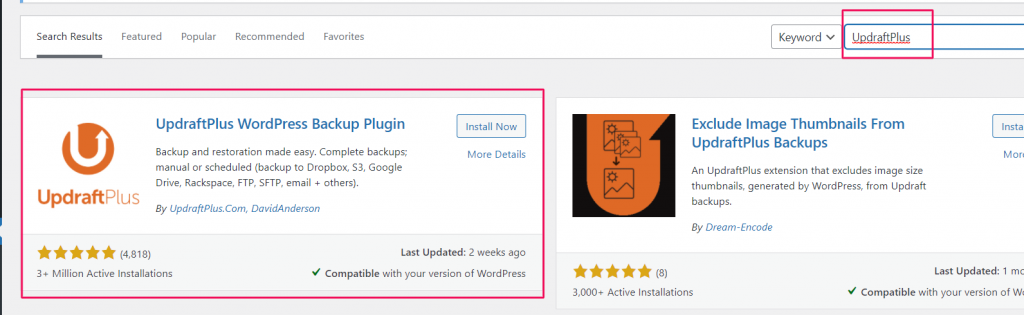 image 76 Best 10 WordPress Backup Plugins Review 2021