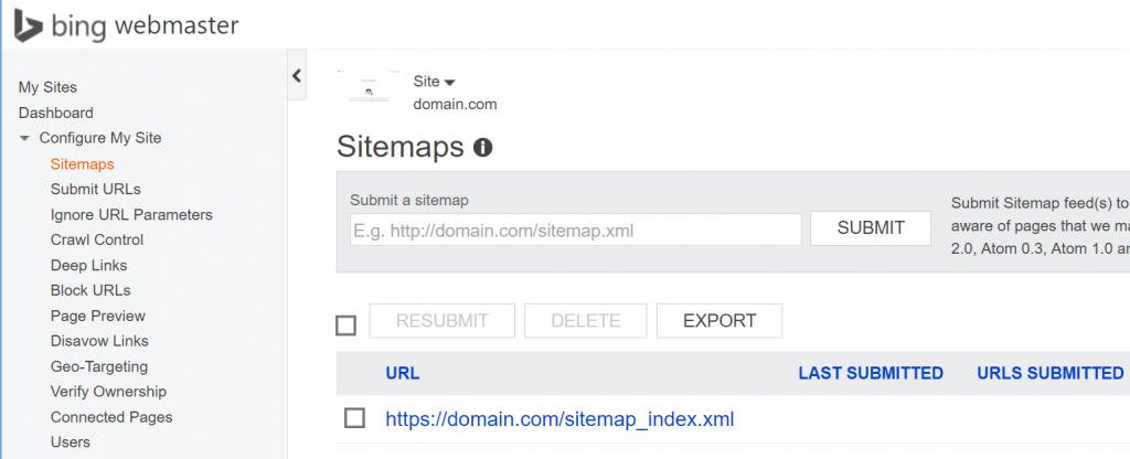 Bing sitemap tools A Complete Guide on HTTP to HTTPS Migration in WordPress