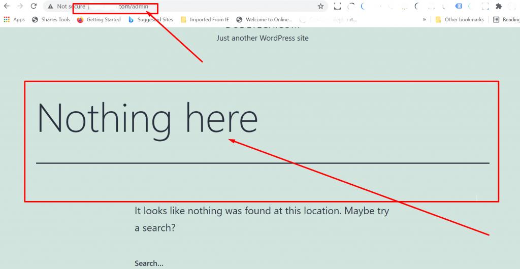 Screenshot 18 2 Find Your WordPress Login URL [Quick Beginner Steps] 2021